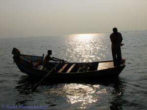 Fishermen at Bhigwan