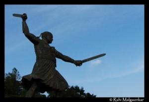 Baji Prabhu Deshpande's statue